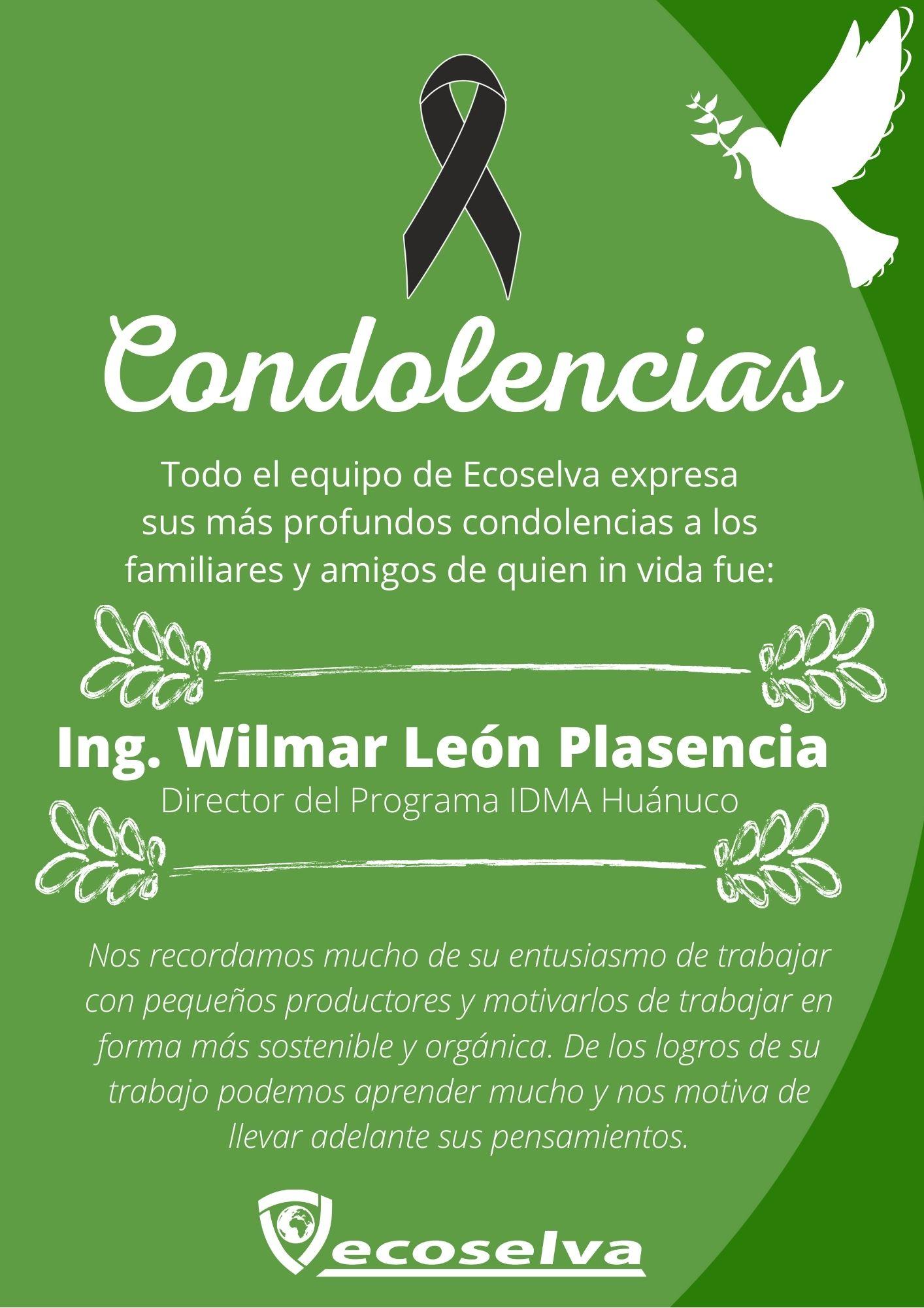 Read more about the article In Gedenken an Wilmar León Plasencia (IDMA-Huánuco)