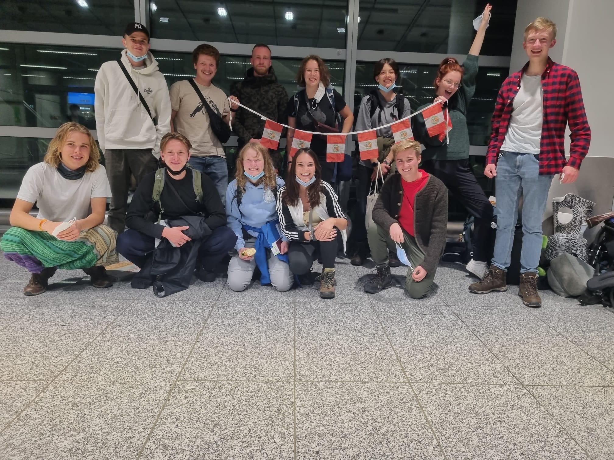 Read more about the article Die Freiwilligen fliegen nach Peru